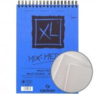 Альбом для акварели на спирали Canson XL Mix Media (15) 300 г/м2 A5