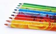 Карандаши цветные трехгранные Koh-i-Noor Magic 12+1 блендер