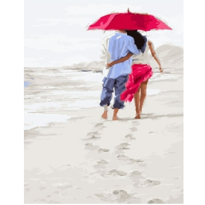 Картина по номерам BrushMe 40*50см Романтика на пляже (GX23590)