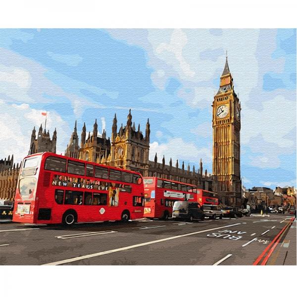 Картина по номерам BrushMe 40*50см Магия Лондона (GX30085)