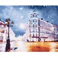 Картина по номерам BrushMe 40*50см Ночной город (GX30132)