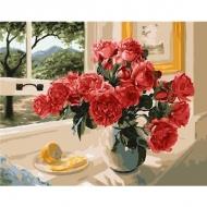 Картина по номерам BrushMe 40*50см Лимонный акцент красных (GX23853)
