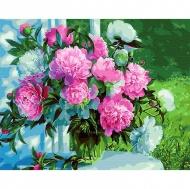 Картина по номерам BrushMe 40*50см Букет пионов в саду (GX31020)