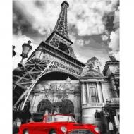 Картина по номерам BrushMe 40*50см Красный цвет Парижа (GX32129)