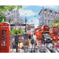 Картина по номерам BrushMe 40*50см Лето в Лондоне (GX32733)