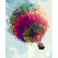Картина по номерам BrushMe 40*50см Воздушный шар (GX3355)