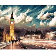 Картина по номерам BrushMe 40*50см Сумерки над Лондоном (GX22077)