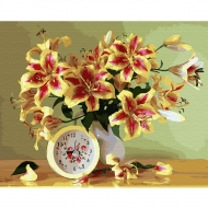 Картина по номерам BrushMe 40*50см Время дарить цветы (GX33911)
