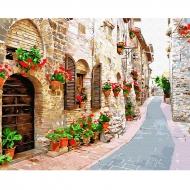 Картина по номерам BrushMe 40*50см Цветочная улица (GX34015)