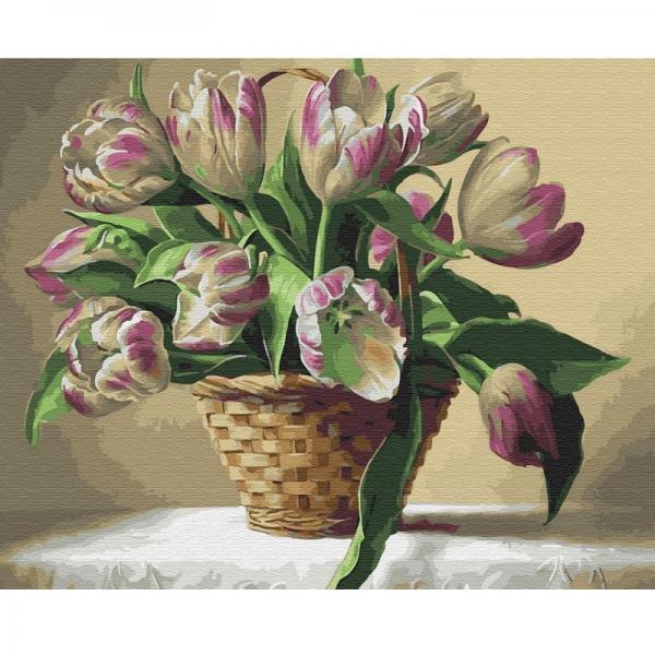 Картина по номерам BrushMe 40*50см Провесники весны (GX34018)
