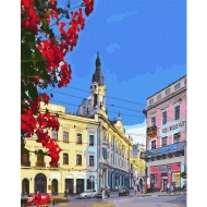 Картина по номерам BrushMe 40*50см Черновцы. Центральна площа (GX36584)
