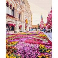 Картина по номерам BrushMe 40*50см Розовая клумба (GX25493)