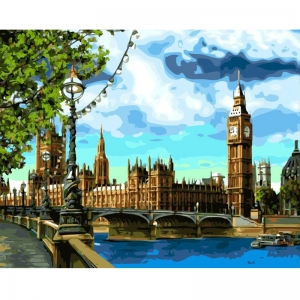 Картина по номерам BrushMe 40*50см Лондон (GX3882)