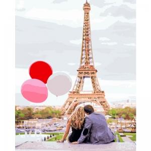 Картина по номерам BrushMe 40*50см Парижская любовь (GX4886)