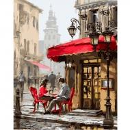 Картина по номерам BrushMe 40*50см Лондонское кафе (GX8089)
