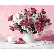 Картина по номерам BrushMe 40*50см Натюрморт в розовых тонах (GX8746)