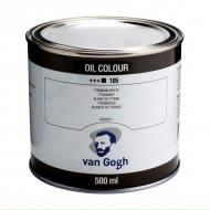 Краска масляная масло Van Gogh 500 мл Белила Титановые
