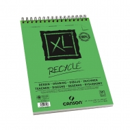 Canson альбом для набросков на спирали XL Recycled album spiral-bound 160 гр, A4 (50)