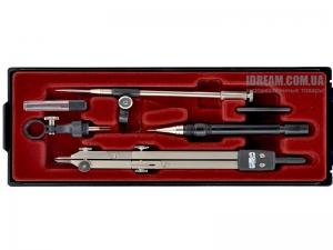 Циркуль 140 мм профессиональный 6903 KOH-I-NOOR, 6 предметов