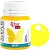 Краска акриловая для декора ROSA Talent 20 мл матовый (03) Желтый (20003)