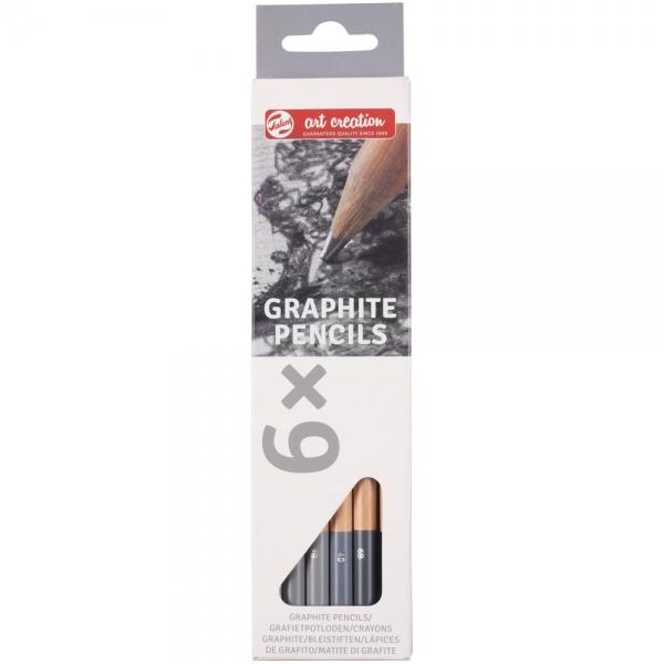 Набор графитовых карандашей Talens Art Creation 6 шт. (9028106M)