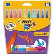 Фломастеры BIC Kids Visaquarelle 10 цветов