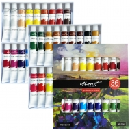 Набор акриловых красок Monet 36 цветов 12 мл  тубы в картоне (1053812)