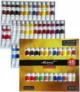 Набор акриловых красок Monet 48 цветов 12 мл  тубы в картоне (1054812)