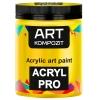 Краска акриловая Art Kompozit, (112) Желтый лимонный, 75 мл