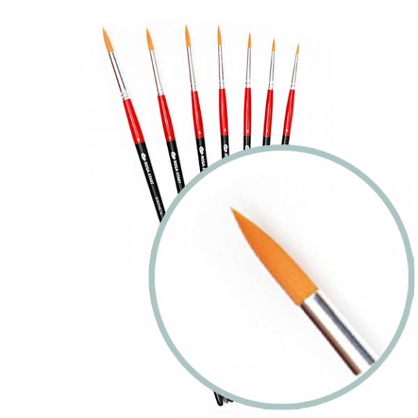 Синтетика круглая 112 на длинной ручке, ROSA START