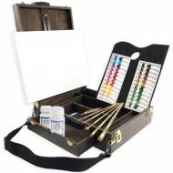 Набор для акриловой живописи Monet Premium с настольным этюдником (1162MT)