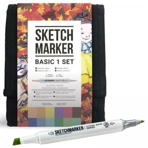 Набор маркеров SKETCHMARKER Базовый-1 12 цветов