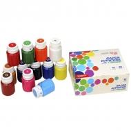 Набор акриловых красок ROSA START для декора, глянцевые 12 цветов 20 мл