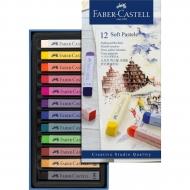 Набор пастели мягкой Faber-Castell Goldfaber 12 цв (16793)