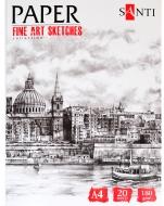 Бумага для рисования Fine art sketches А4 20 лист. 741956