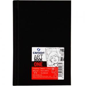 Скетчбук для эскизов Canson Art Book One 100 г/м2 14x21,6 см 98 л (0005-568)