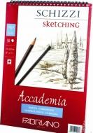 Альбом на спирали Accademia А5 (14,8*21см) 120г/м2, 50л, мелкое зерно, Fabriano