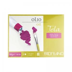 Склейка Tella (18*24см) 300г/м2, 10л, холст, Fabriano