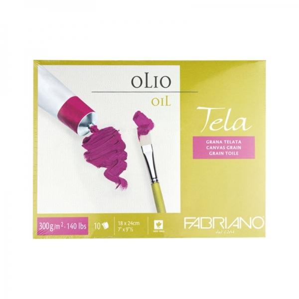 Склейка Tella (24*32см) 300г/м2, 10л, холст, Fabriano