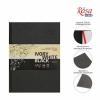 Блокнот A5 ЧЕРНАЯ и БЕЛАЯ бумага (14,8*21см), 80г/м ROSA, 96л.