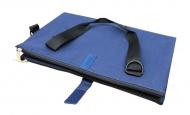 Сумка раскладная для бумаги А4 и А3, синяя