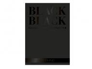 Склейка-блок Black А3, 300г/м2, 20л, черная, Fabriano