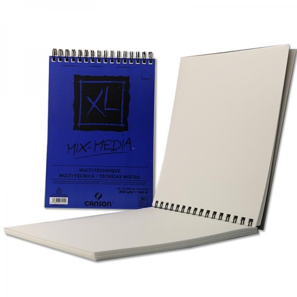 Альбом для акварели на спирали XL Mix Media Medium grain (30) 300 г/м2 21х29,7 см