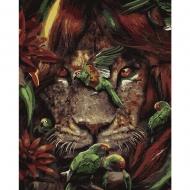 Картина по номерам BrushMe 40*50см Тропический лев (GX36116)