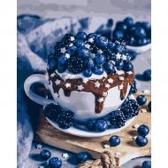 Картина по номерам Идейка 40х50см Шоколадный брауни (КНО5557)