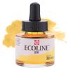 Краска акварельная жидкая Ecoline 201 Желтая светлая