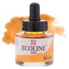 Краска акварельная жидкая Ecoline 202 Желтая темная