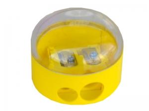Точилка с контейнером KUM 210K пластиковая круглая (в блистере 1 шт.)