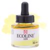 Краска акварельная жидкая Ecoline 226 Пастельный желтый
