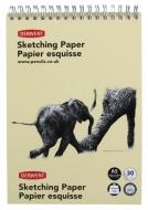 Альбом на спирали, Портрет, форм. А5 (21×14,8), 165г/м2, 30л, текстурная бумага, Derwent
